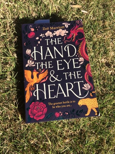Book cover The Hand, the Eye and the Heart by Zoe Marriottt
