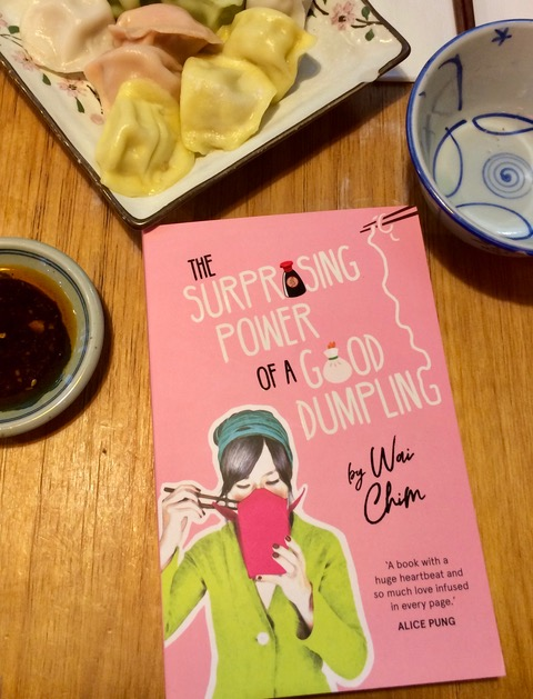 Book by Wai Chim with dumplings