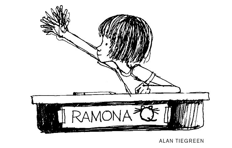 Ramona Q, in The Art of Ramona Quimby