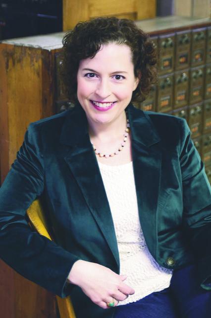 Author portrait, Elizabeth C Bunce